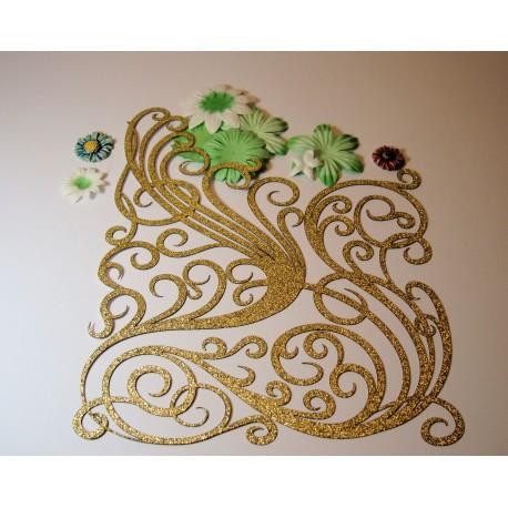 Arabesque paillette 02161 pour vos créations scrapbooking