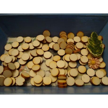 Rond ba017 embellissement en bois pour vos créations