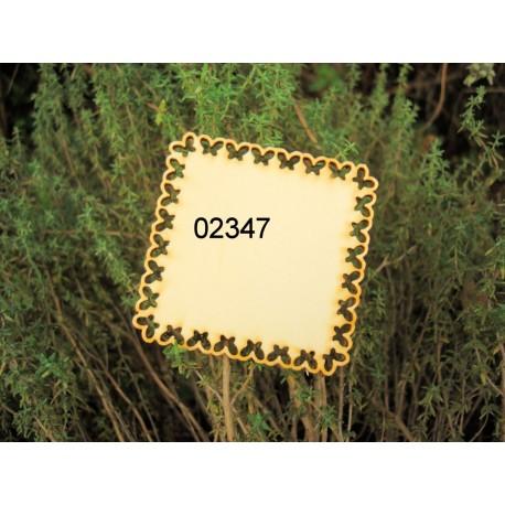 cadre 02347 embellissement décoration pour scrapbooking