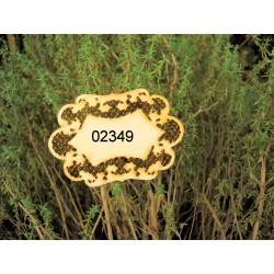 cadre 02349 embellissement décoration pour scrapbooking