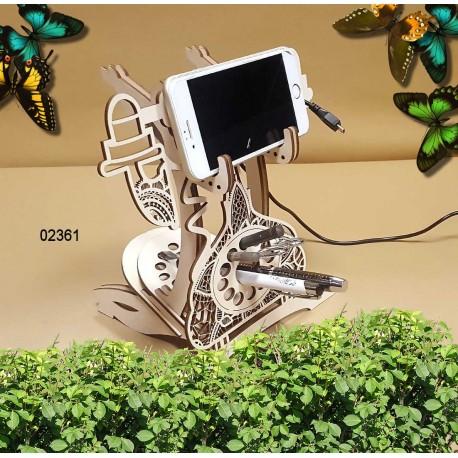 Porte téléphone 02360 portable décoration intérieur cadeau