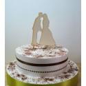 Cake topper 02479 je rajoute le texte de votre choix mariage haut de piece montée