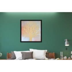 Arbre 02500 panneau bois collections décoration intérieur avec fond peint