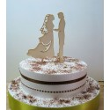 Cake topper 02480 Pour vous monsieur mariage haut de piece montée Anniversaire