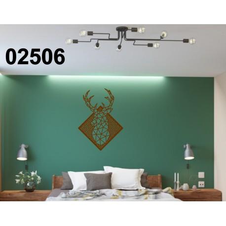 Cerf 02506 panneau en bois collections décoration intérieur cadeau