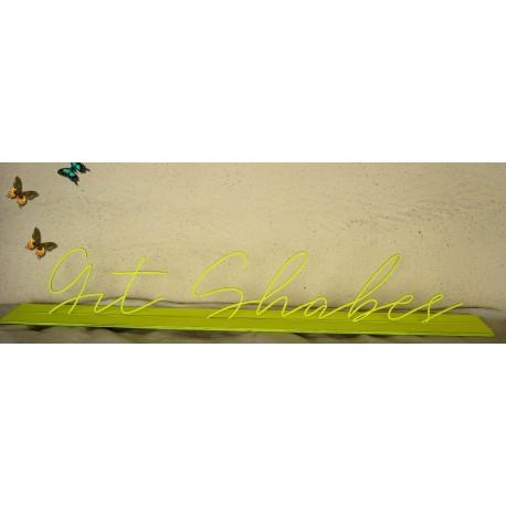 Centre de table sur mesure taille maxi 78 cm police aux choix avec ou sans peinture