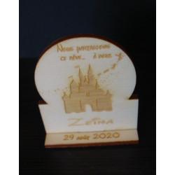 Disney marque place 02537 avec gravure